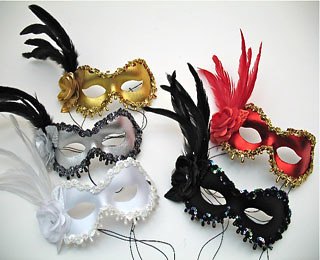 Rose Masquerade Masks