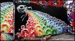 By ? (for Graff  La Kommune) (Thias (-)) Tags: terrain streetart paris wall painting skull graffiti mural belleville painter forge graff bombing kommune arosol frenchgraff
