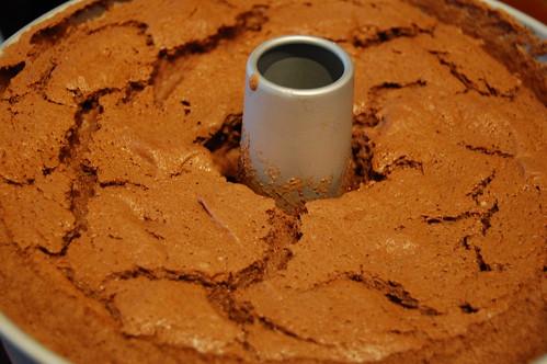 Chocolate Lover's Angel Food Cake