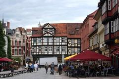 Quedlinburg, Saxony-Anhalt, Germany (EJK41) Tags: germany saxony sachsen altstadt tyskland allemagne germania duitsland fachwerk fachwerkhaus quedlinburg