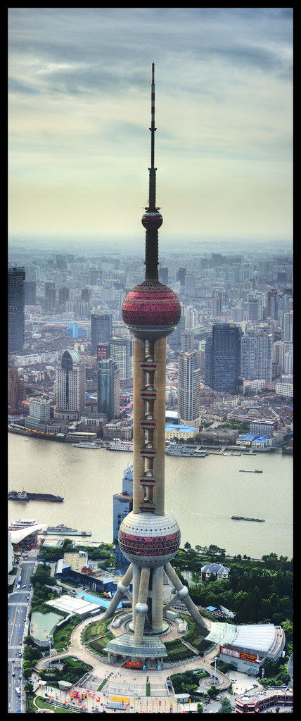 Pearl tower panorama