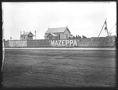 [Advertisements with Newcastle Mortuary Station and Fire Bell, Newcastle West, NSW, November 1896] (Cultural Collections, University of Newcastle) Tags: ads newcastle bell australia advertisement nsw signalbox firebell 1899 hunterstreet mazeppa hunterst mortuarystation zebragratepolish ralphsnowball snowballcollection ralphsnowballcollection asgn0661b28 newcastlemoruarystation recketts newcastleregionnswhistorypictorialworks photographynewsouthwalesnewcastle
