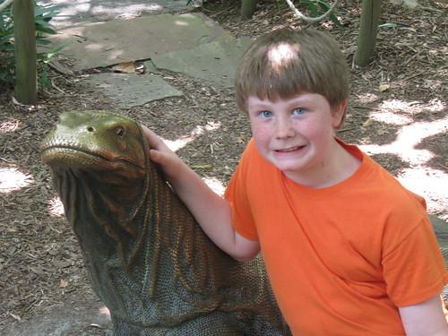 Z and the Komodo Dragon