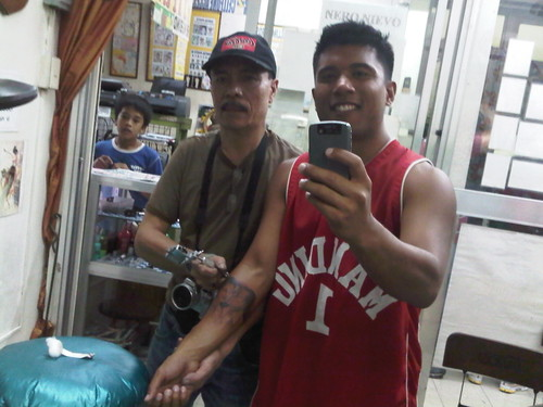 in the Philippines after Marcos's rule by founding the Philippine Tattoo