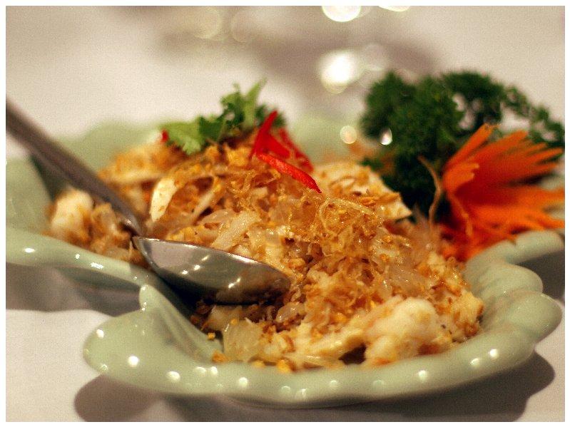 Pamelo Salad w Abalone