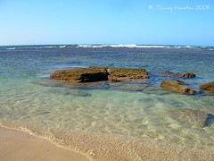 Ke'e Beach (tammybeck) Tags: ocean sea sky beach rock hawaii sand nikon waves kauai hi 2008 kee keebeach digitalcameraclub beautifulexpression crazyaboutnature everythingaboutthesea