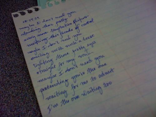 something I wrote