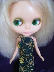 Blondie in Vintage Dress