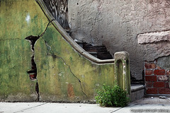 (jaw0) Tags: abandoned philadelphia stairs pennsylvania decay crack pa philly strawberrymansion 50c063569