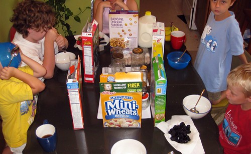 Cereal bar lunch