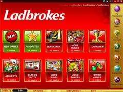 Labrokes Casino Lobby