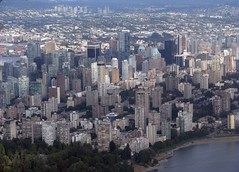 aerial, Vancouver, BC (Dan_DC) Tags: urban canada vancouver downtown cityscape bc britishcolumbia scenic aerialview aerial urbanscene