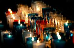 Lumière (Averoes) Tags: light church candles cathedral lumière cathédrale chiaroscuro église clair bougies cathedrale obscur clairobscur lightdark