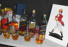 Degustacin (DK Uru) Tags: blue usa america uruguay publicidad cola walker whisky sur cocacola montevideo japon glas vaso regal botle linea melilla botella piriapolis cata laber degustacin johonnie