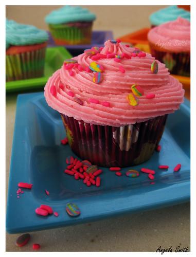 Rainbow Cupcake Pink