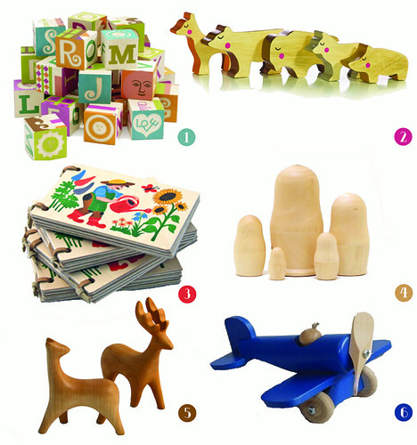 Wooden items for kids-adults
