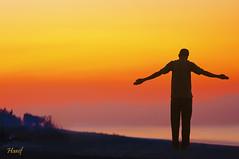 Do you Taichi.. (maninerror (hanif)) Tags: sky people bali sun seascape silhouette indonesia landscape hf hfsilhouettes