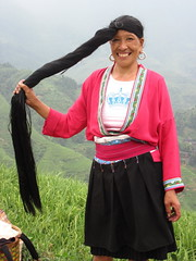 Yao lady's long hair 1