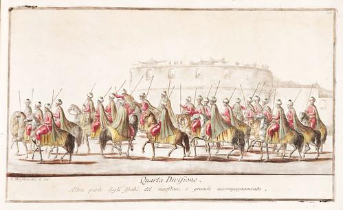 005- Celebre mascherata fatta nella splendidissima citta di Napoli in campagna felice nel carnovale dellanno 1778