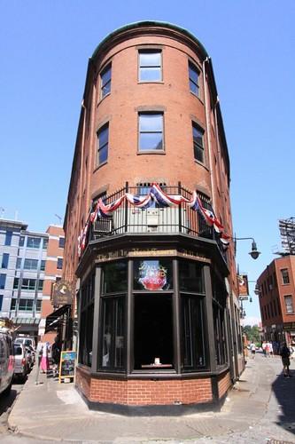New England architecture in Boston.