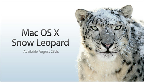 苹果Mac OS X 10.6 (Snow Leopard )  雪豹