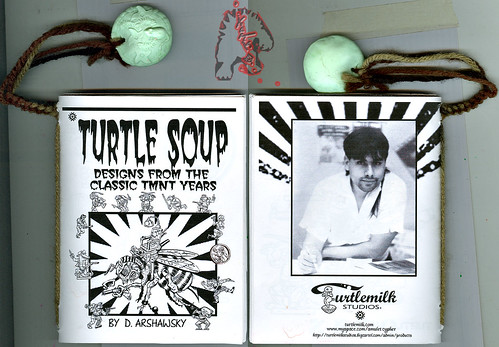 """Turtle Soup – Designs From The Classic TMNT Years""  by David Arshawsky i (( 2009 ))"