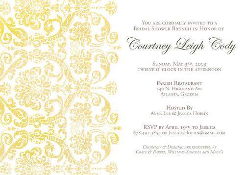 Bridal Shower Invite por jessica_hoehn.