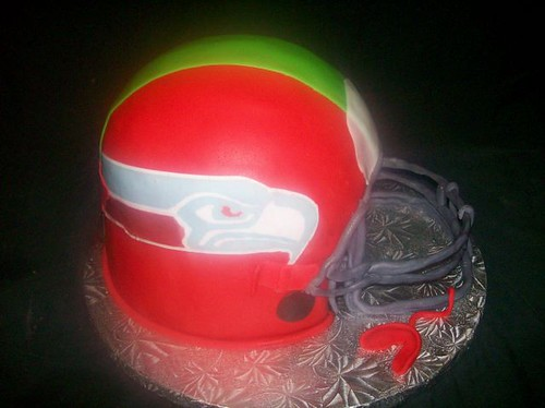 football helmet cake. football helmet cake 1