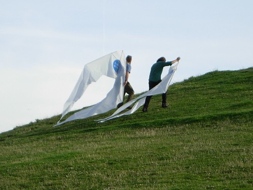 Gasworks Park - Kite Installation