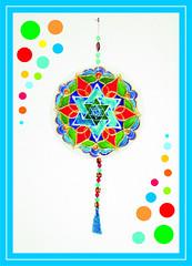 Mandala vitral por MANDALAS & Cia