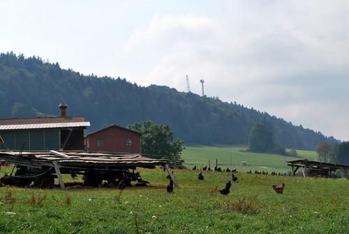 Saint-Brais et ses éoliennes