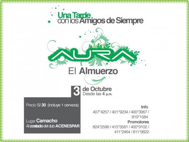 El Almuerzo - Aura