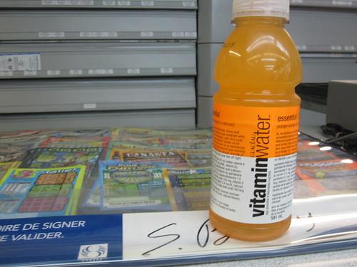 Vitamin Water - $2.50
