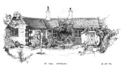Pen drawing.St. Cass, Northowram,Halifax UK (andream66) Tags: uk west sketch drawing yorkshire halifax pendrawing northowram