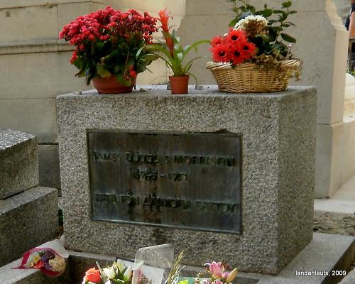 Tomb of Jim Morrison