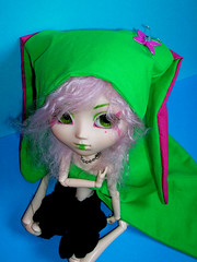 Kwi (Poome) Tags: photo nikon holly pullip kiwi bonnet custo lapin poupe coolpix4600 junplanning coreenne