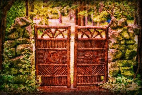 Gate to the Unknown at Yaddo