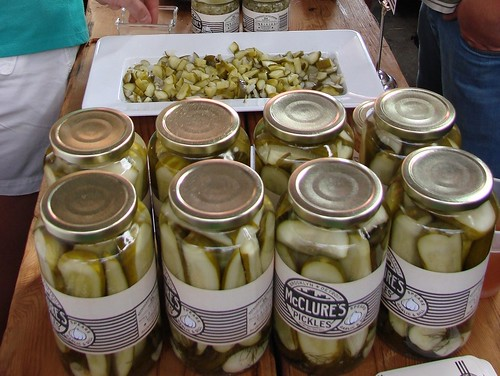 McClure's Pickles at the UnFancy Food Show