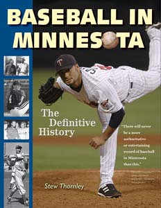 Baseball in Minnesota book cover