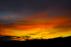 sunrise llyswen (Meyrick Ames) Tags: red yellow wales nikon photos sunsets ames unlimited powys d90 meyrick llyswen bej unlimitedphotos meyrickames