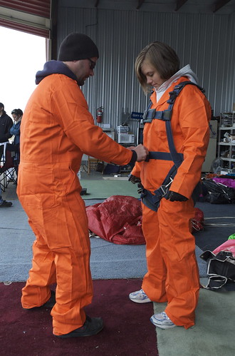 Getting suited up
