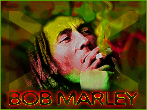 Bob Marley Smoking Des...