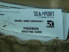 Caravan safety card