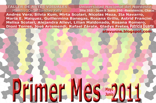 Primer Mes 11 - AFICHE by OESEKA