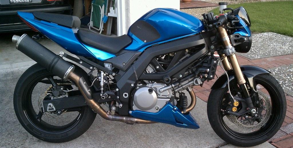 Pics of my bike: Man-teal for life! (Until go white :)) - Suzuki SV650