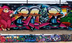 Gigi Zade Jkr West Painters Asie Yono. (COLOR IMPOSIBLE CREW) Tags: chile west graffiti gigi asie painters 012 yono zade quilpue 2011 jkr fros belloto