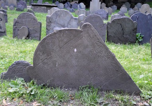 Burial Marker, Granary Burial Ground, Boston