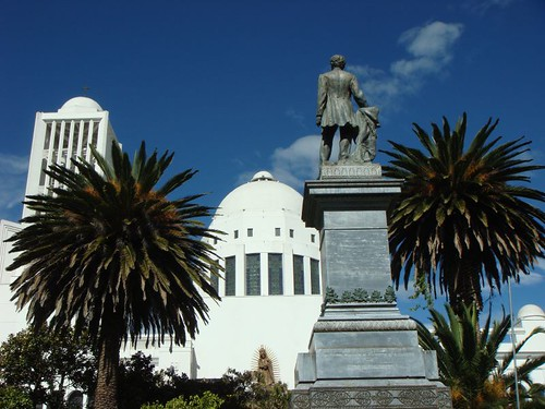 Ambato main square...