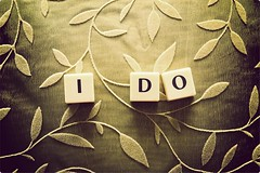If I Do, Do You? (Stephen.James) Tags: wedding green love floral project 60s lace marriage romance 80s scrabble passion 70s ido 90s loveproject