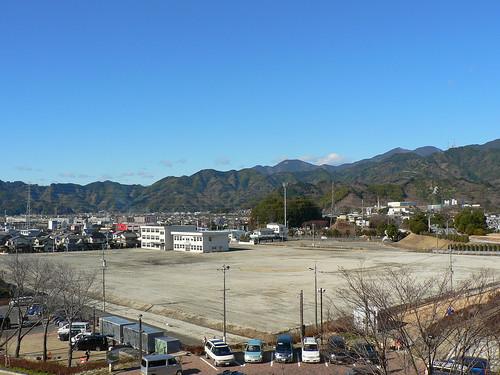 かつて清水工業高校と呼ばれた場所
